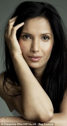 """""""Padma Lakshmi was diagnosed with endometrosis aged 36...  'I was told that some women get menstrual cramps badly and some don't and it was normal for me because my mother had them. I saw her suffer the way I came to suffer.'"""" Full article at http://www.dailymail.co.uk/health/article-2279647/Salman-Rushdies-ex-wife-Padma-Lakshmi-excruciating-battle-endometriosis-medical-miracle-baby.html#"""