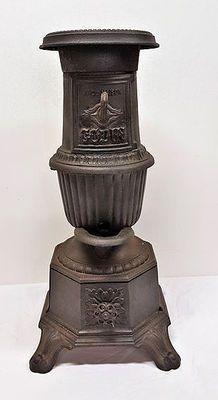 Godin - gietijzeren kachel - 19e eeuw, Frankrijk