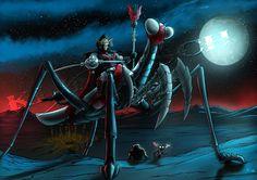 Hordak-Mantisaur - commission by Maxnethaal on DeviantArt