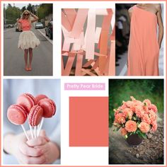 {Color Inspiration Tuesday} Warm Coral || Pretty Pear Bride