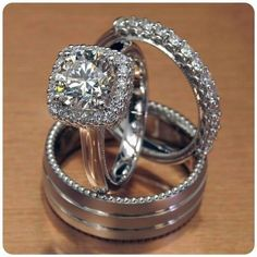 Bridal & Wedding Party Jewelry Reasonable 10k Solid White Gold 0.59ct Oval & Round Cut Vvs1 Diamond Bridal Engagement Ring