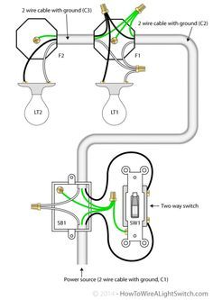 Three Way Switch Multiple Lights : three, switch, multiple, lights, Wiring, Diagram, House, Light, Bookingritzcarlton.info, Electrical, Wiring,