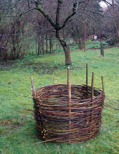 DIY Wattle Garden Beds - Wattle Garden Beds