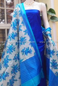 Silk Dupatta & Silk Kurta Fabric