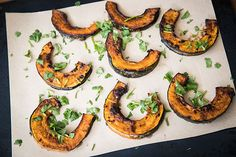 Miso glazed pumpkin with coriander – Recipes – Bite