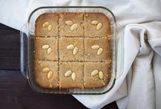Kalb-el-Louz, semolina, almonds, dessert, honey, Algeria, Algerian cuisine, sweet