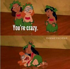 Lilo and Stitch All time favorite Disney movie. Ilove Lilo and Stitch Disney Pixar, Walt Disney, Cute Disney, Disney And Dreamworks, Disney Magic, Disney Cars, Disney Stuff, Lilo And Stitch 3, Lilo And Stitch Quotes