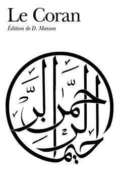 Le Coran - D. Masson - Couverture