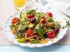 Abendbrot - Rezepte für leckere After-Work-Gerichte - rote-linsen-salat  Rezept