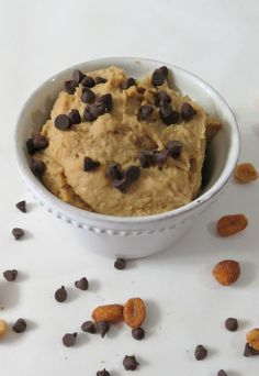 Peanut Butter Cookie Dough Hummus - yum must try this!
