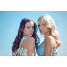 Chasing Life's Haley Ramm and Grazie Dzienny look so beautiful in this photo.