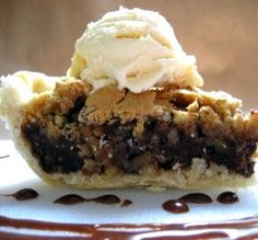 "Chocolate Chip Pie: ""This is an absolute must for anyone who loves chocolate chip cookies and pie. You get the best of both worlds in one dessert."" -Southern Polar Bear"