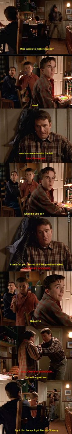Classic Hal - golly I loved Malcolm in the Middle....