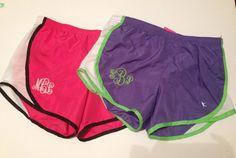 Personalized Running shorts - Girls- Cheer- Gift- Birthday via Etsy