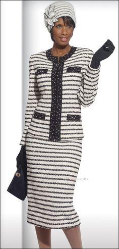 High Fashion Exclusive Boucle Knit Designer Lady Suit by Donna Vinci 15085 $439.00