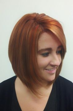 Color panels in blonde, copper, and red.  By Lucy Lopez