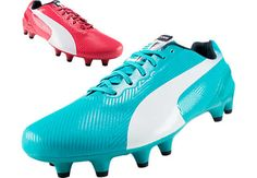 Puma evoSPEED 1.2 FG Soccer Cleats - Tricks...Available at SoccerPro now.