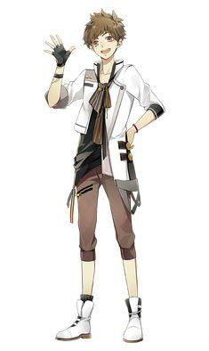 He reminds me of an anime character I created Anime Boys, Hot Anime Boy, Chica Anime Manga, Manga Boy, Anime Art, Fanarts Anime, Anime Characters, Poses Manga, Tsukiuta The Animation