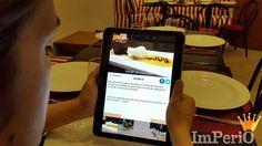 Read How Imperio Restaurant Impresses Customers with FineDine Tablet Menu & Improves Operations Digital Menu, Menu Restaurant, Ipad, Empire, People