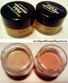 Holy grail best concealer - The secret to covering dark under eye circles - an orange corrector..read why! Nyx Concealer in a Jar