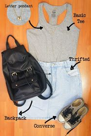 New post!! How to style denim skirts!!