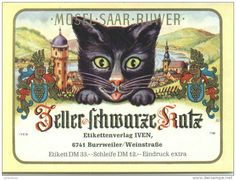 Zeller Schwarze Katz  Deutsch wein
