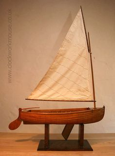 A beautiful vintage clinker built wooden dinghy constructed from a kit, by Adamcraft, in the late 1940's...