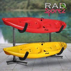 online shopping for 1006 RAD Sportz Deluxe Freestanding Heavy Duty Kayak Rack Two Kayak Storage from top store. See new offer for 1006 RAD Sportz Deluxe Freestanding Heavy Duty Kayak Rack Two Kayak Storage Kayak Holder, Kayak Rack, Diy Kayak Storage Rack, Kayak Fish Finder, Kayak Stand, Design Garage, Hitch Rack, Recreational Kayak, Cargo Rack