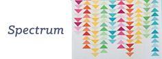 Spectrum Quilt Pattern. xox