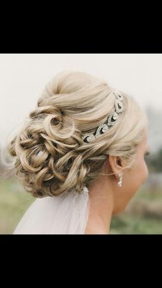 Great up-do with a headband