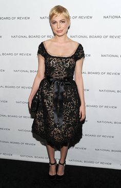 Michelle Williams in Oscar de la Renta