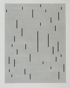 anni albers | with verticals, 1946/1983 (screenprint)