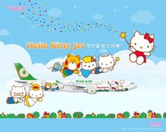 EVA Air Hello Kitty Flight Comes To Singapore This December | SUPERADRIANME