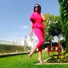 Look Bonang Matheba All Fashion, Passion For Fashion, Spring Fashion, Wrap Dress, Dress Up, Black Actresses, Corporate Style, Dress For Success, Holiday Outfits