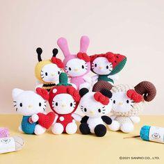 Knitting Kits, Knitting Yarn, Knitting Projects, Hello Kitty Crochet, Hello Kitty Toys, Bamboo Shop, Red Apple, Wool Yarn, Crafts To Make