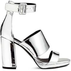 Patent Sandals by H&M on ShopStyle.
