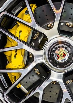 The Porsche 911 is a truly a race car you can drive on the street. It's distinctive Porsche styling is backed up by incredible race car performance. Porsche Wheels, Porsche Sports Car, Porsche Cars, Car Wheels, Porsche 2017, Porsche Panamera, Porsche 918 Spyder, Porsche 911 Turbo, Porsche Classic