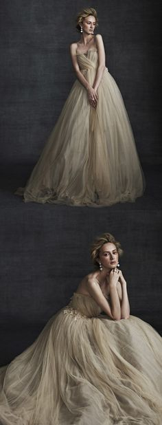 Tatiana Gown / Samuelle. Once Upon a Time I dreamed I would wear a dress like this :)