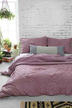 Plum & Bow Meghan Ruched Duvet Cover