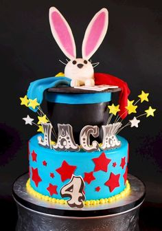 Cup a Dee Cakes Blog: Magic Jack Birthday Cake