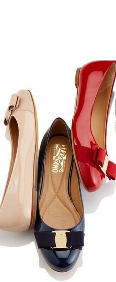 Salvatore Ferragamo Salvatore Ferragamo, Lawyer Fashion, Fab Bag, Oxford Blue, Ballerina Flats, Shoe Collection, Designer Shoes, Me Too Shoes, Punk