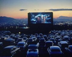 Drive in movies.