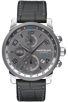 Love it! | Montblanc TimeWalker TwinFly Chronograph GreyTec Limited Edition