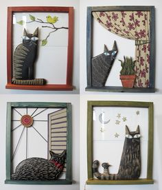 γλυπτα τοιχου κεραμικα διακοσμητικα τοιχου | Anastasaki Ceramics