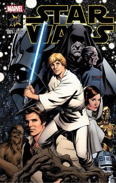 Star Wars #1 variant cover by Mike McKone *