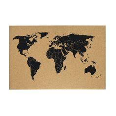 Mapa korkowa świat