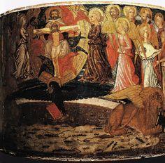 Lo Scheggia (Giovanni di Ser Giovanni detto) - Trionfo dell'Eternità (desco da parto) - 1448-1449 - Museo di Palazzo Davanzati, Firenze
