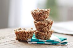 These vegan Aussie Bites are like a cross between a granola bar and a muffin. Best of all, they take only about 10 minutes to assemble!