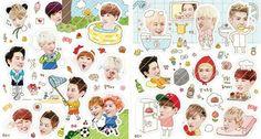 Exo stickers