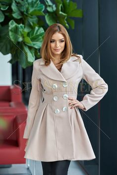 MissQ Warmish Feeling Cream Coat